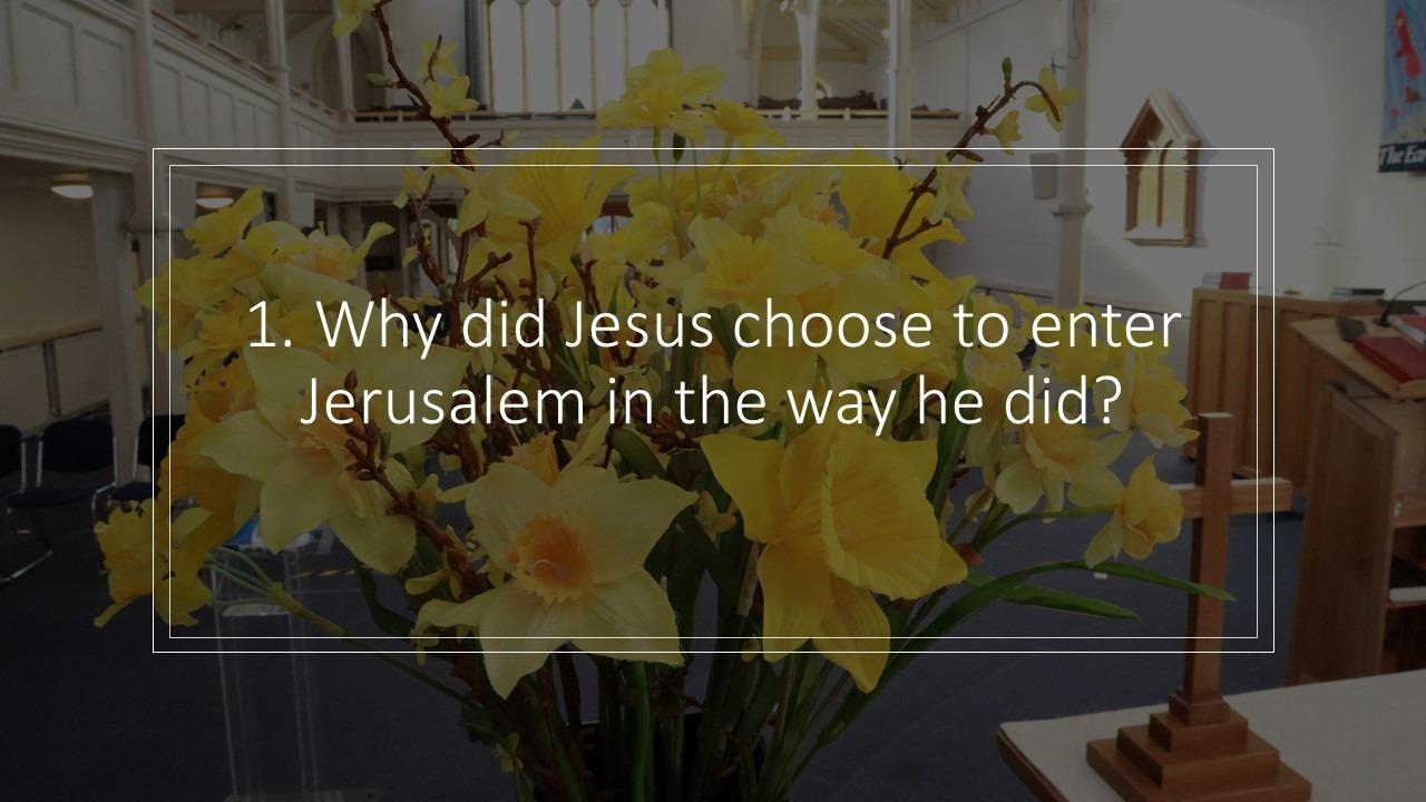 Sermon Study Questions 28 March 2021