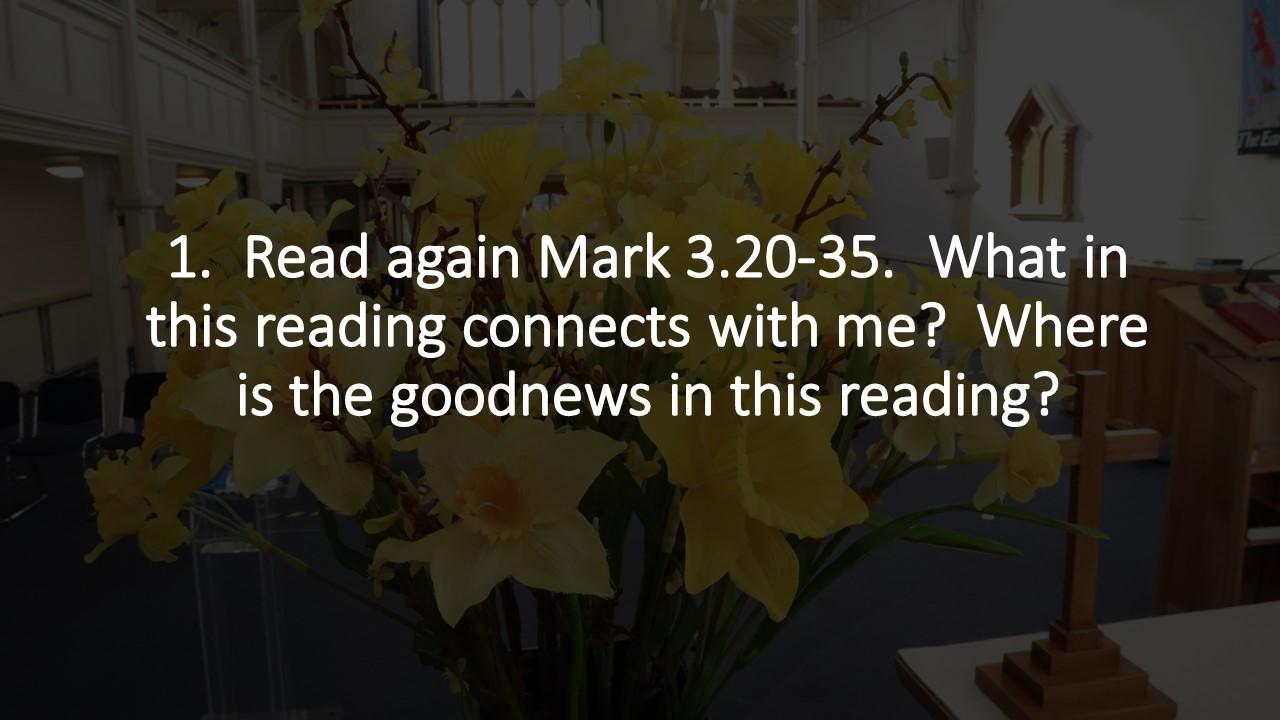 Sermon Study Questions 06 Jun 2021
